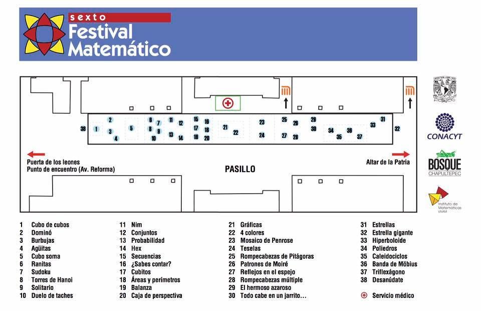 Festival Matemático México 2016 | Fundación CIENTEC