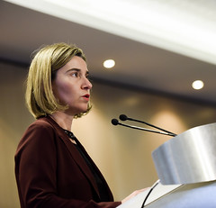 Participation of Federica Mogherini,Vice-President of the EC, in the 18th EU-NGO Human Rights Forum (European External Action Service - EEAS) Tags: mogherini eu humanrights forum ngo