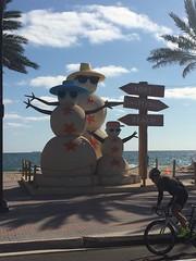 IMG_5789 (bestmilan) Tags: bestmilan photo fortlauderdale florida december 2016 beach snowmen snowman