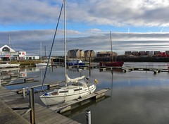 Fleetwood Marina (Eddie Crutchley) Tags: europe england lancashire fleetwood outdoor marina boats blueskies simplysuperb