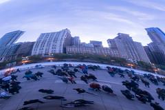 Cloud Gate Reflection I (sjshoreman) Tags: chicago illinois cloudgate bean reflection millenniumpark