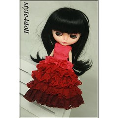 style4doll Lace Dress for Blythe-