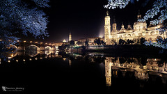 Zaragoza by Night. (Franz - Jimenez) Tags: espaa spain zaragoza noche night angular canon eos600d reflejo reflections