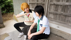DSC04542.jpg (elyuu) Tags: freeiwatobiswimclub nagisa hazuki haruka nanase makoto tachibana iwami japan cosplay