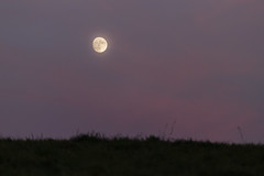 Moonrise (Phil Roeder) Tags: canon6d canonef70200mmf4lusm iowa jacksoncounty moon dusk