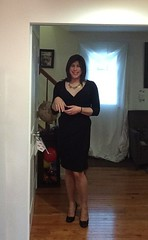 LBD gurl (JenniferB!) Tags: crossdress crossdresser crossdressed cd transgender tgurl tgirl tg pantyhose hosiery heels hose highheels gurl girly makeup ladylike enfemme femme legs lipstick girlish ootd pumps