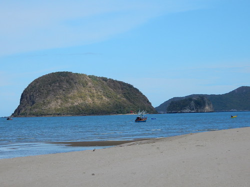 Dolphin Bay near Hua Hin