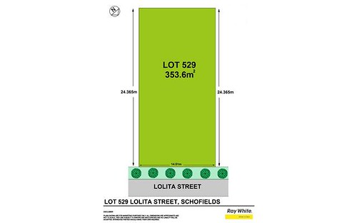 Lot 529 Lolita Street, Schofields NSW 2762