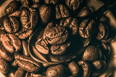coffee beans (Vanili11) Tags: hmm macro coffee beans texture mpt514 matchpointwinner