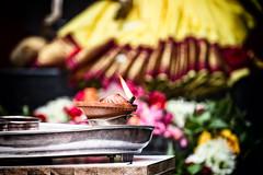 Worship (_paVan_) Tags: worship temple singapore littleindia lamp faith