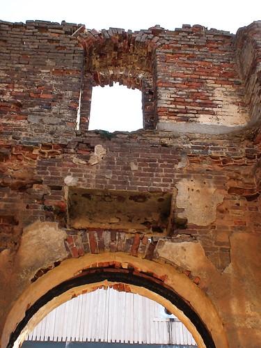 Руины церкви Преображения