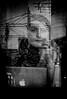 (daveson47) Tags: monochrome mono bw blackandwhite street window candid people ricoh ricohgrd grd streetphoto streetphotography