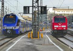 Meridian und BR 245 der SOB im Hbf München 😉 (holzi1156) Tags: br245 bahnhof münchen meridian train eisenbahn zug