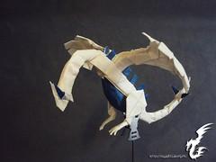 Origami Pokemon, Gotta Fold 'Em All (Origami.me) Tags: origami papercraft paper craft fold folding diy pokemon lugia