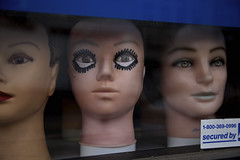Secured By (Generik11) Tags: sf mannequins makeup creepy heads sfist