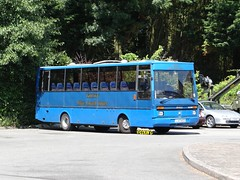 Tantivy 5 (Coco the Jerzee Busman) Tags: uk blue bus islands coach camo renault cannon jersey swift dennis tours dart channel leyland lcb plaxton tantivy