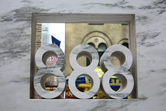 888 (Read2me) Tags: she city nyc urban three numbers repetition ge eight duele cye thechallengefactory pregamesweepwinner