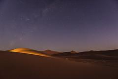 Desert light (Gies!) Tags: night stars landscape nightscape desert namibia sossusvlei nightphotograpghy