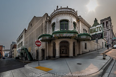 Tacoma-Architecture-Rilato_8-22-2015 (Rob Green - SmokingPit.com) Tags: county old sunset red 2 signs history beautiful speed canon buildings lens washington exposure theater downtown angle mark wide structures ii 7d wa tacoma brilliant rialto architexture the 10mm robgreen rokinon uktra oierce