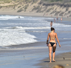 Mermaid (Renato Di Prinzio Fotografa) Tags: sea summer espaa sexy beach girl beauty mar spain chica asturias playa verano summertime bella hermosa spagna cantabrico