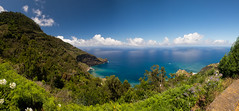 PanoramaMadeira (Lucie van Dongen) Tags: blue sea beach nature de landscape island colours scenic panoramas madeira paysages le madre