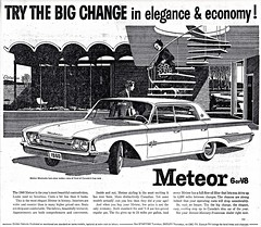 1960 Meteor Montcalm Four-Door Sedan (aldenjewell) Tags: door canada sedan four newspaper ad meteor 1960 montcalm