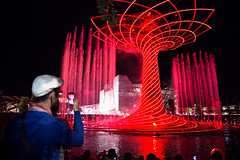 Milan Expo 2015 (Francesco Cinque) Tags: show life light red people italy milan tree expo culture exposition planet feed 2015 of