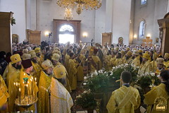 31. Glorification of the Synaxis of the Holy Fathers Who Shone in the Holy Mountains at Donets. July 12, 2008 / Прославление Святогорских подвижников. 12 июля 2008 г