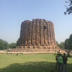 . Last picture from Qutab Minar from my phone ! Alai... (Total TaiTai) Tags: new india delhi din minar ud alai qutab aibak cjindia
