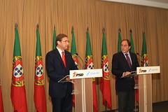 Assinatura do Acordo de Governo e Colaboração PSD/CDS-PP