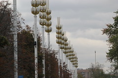 Wheat streetlights VDNK exhibition (Ray Cunningham) Tags: park architecture russia moscow exhibition stalinist vdnk