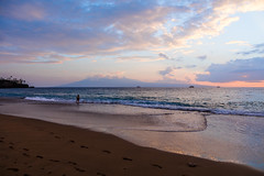 Ka'anapali Beach Day, Maui - 17 (www.bazpics.com) Tags: ocean trip travel sunset sea beach fun island hawaii us sand honeymoon unitedstates pacific visit maui relaxed aloha lahaina mahalo kaanapali