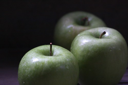 3 Green Mood Apples