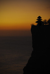 Uluwatu Sunset (femiano.ciro) Tags: sunset bali building slr architecture buildings indonesia landscape outside outdoors twilight nikon honeymoon sundown dusk minimal nikkor minimalistic minimalist 10mp 1855mmf3556 d80 seanmcgrath 18mm55mm f35f56 seanmcgcom minoredits