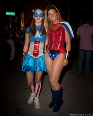 201510315DIII Lincoln Rd Halloween 55 (James Scott S) Tags: road urban beach halloween up canon us costume dress unitedstates florida miami candid south flash makeup lincoln characters fl miamibeach ef rd 2470 600ex lrcc 5diii
