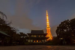 Zojoji Temple and Tokyo Tower - Japan 2015