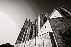 Mallorca cathedral2 (Mon'S photography) Tags: bw architecture spain pentax streetphotography mallorca mons baleares