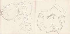 der sehr heisse Sommer 2015_0012 (raumoberbayern) Tags: summer bus pencil subway munich mnchen sketch drawing sommer tram sketchbook heat ubahn draw bleistift robbbilder skizzenbuch zeichung