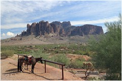 Apache Trail, Arizona (kcezary) Tags: travel arizona usa tourism canon landscape places apachetrail superstitionmountains canoneflens путешествия eosm canonprimelens canoneosm