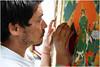 "India Travel Photography ""Norbulingka Tibetan Institute Dharamsala"" Himachal Pradesh.030 by Hans Hendriksen (Travel Photography - Reisfotografie) Tags: voyage travel india mountain nature berg landscape temple photography gold photo foto buddha religion natur north pass culture natuur monk buddhism glacier institute holy monastery monks valley zanskar lama tibetan kashmir himalaya landschaft ferien manali himachal indus nord klooster kloster dharamsala jammu dalai landschap cultuur pradesh noord rohtang monch daramsala monnik religie boeddha gletsjer keylong baralacha sarchu daramshala namgyal norbulingka reisefotografie boeddhisme baijnath reisebilder zangla reisfotografie reisfoto индии химачалпрадеш"