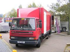 K116 WND - Scott Forest (quicksilver coaches) Tags: forest fairground 45 buckingham funfair leyland daf showmans k116wnd