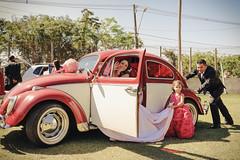 Casamento - Adarcy e Edimar (Alexander Cerqueira dos Santos) Tags: wedding casamento noiva fusca casados noivos recm daminha empurrando
