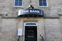The Bank, Gateshead (new folder) Tags: typography pub entrance gateshead bowlerhat thebank lowfell durhamroad