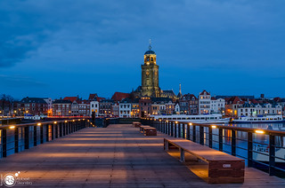 Deventer in Blue