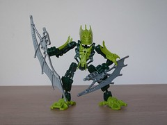 LEGO 7117 LEGO BIONICLE STARS Gresh (Totobricks) Tags: stars lego review howto instructions build bionicle gresh legobionicle glatorian totobricks lego7117