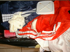 DSCF0007 (cvse210us) Tags: fire burning shorts adidas nylon destroying trashing polyamide