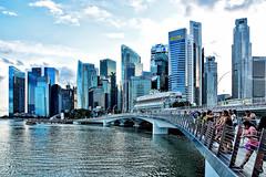Jubilee Bridge (chooyutshing) Tags: singapore jubileebridge marinabay