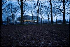 Hidden (kceuppens) Tags: city longexposure building tree architecture bomen nikon le antwerp nikkor singel antwerpen hidding architectuur gebouw desingel 24120 d810 leefilter nikond810 nikon24120f4vr
