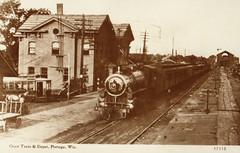 Railroad Coast Train and Depot