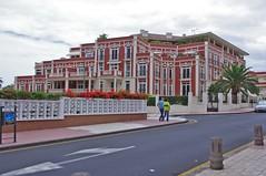 Santa Cruz (Marika Hexe) Tags: house port de island hotel islands spain property porto cruz tenerife canary